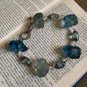 Jewelry - Blue chunky bracelet